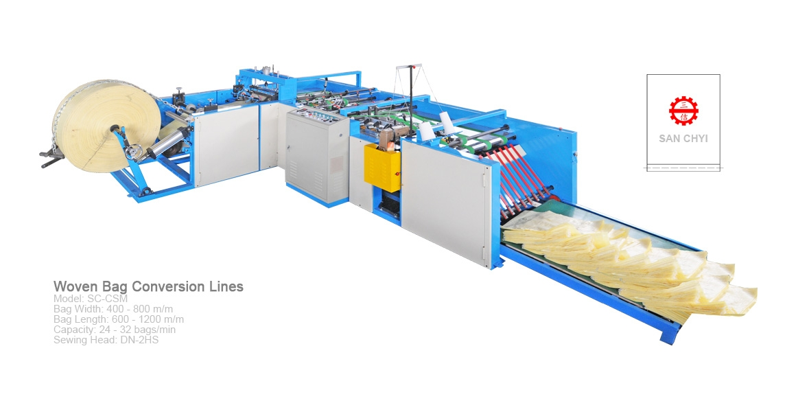 Woven Bag Sack Conversion Lines(SC-CSM800)