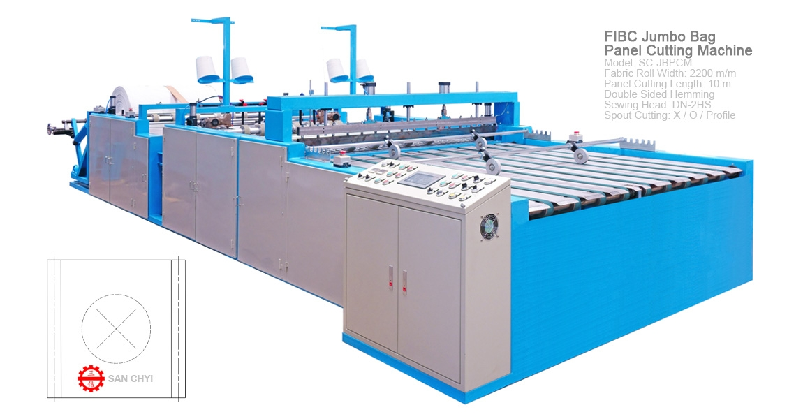 FIBC Jumbo Bag Panel Cutting Machine(SC-JBPCM2200)