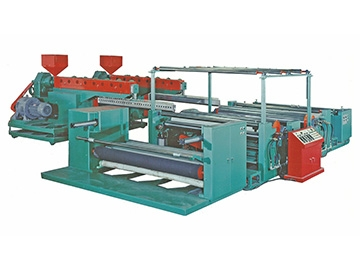 Double Sided Extrusion Coating Line