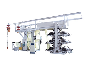 Roll to Roll Woven Bag Printing Machine